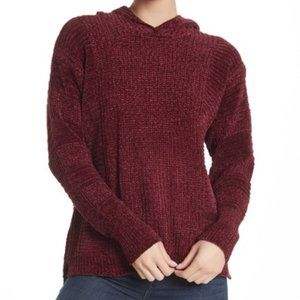 Pleione Hooded Chenille Sweater